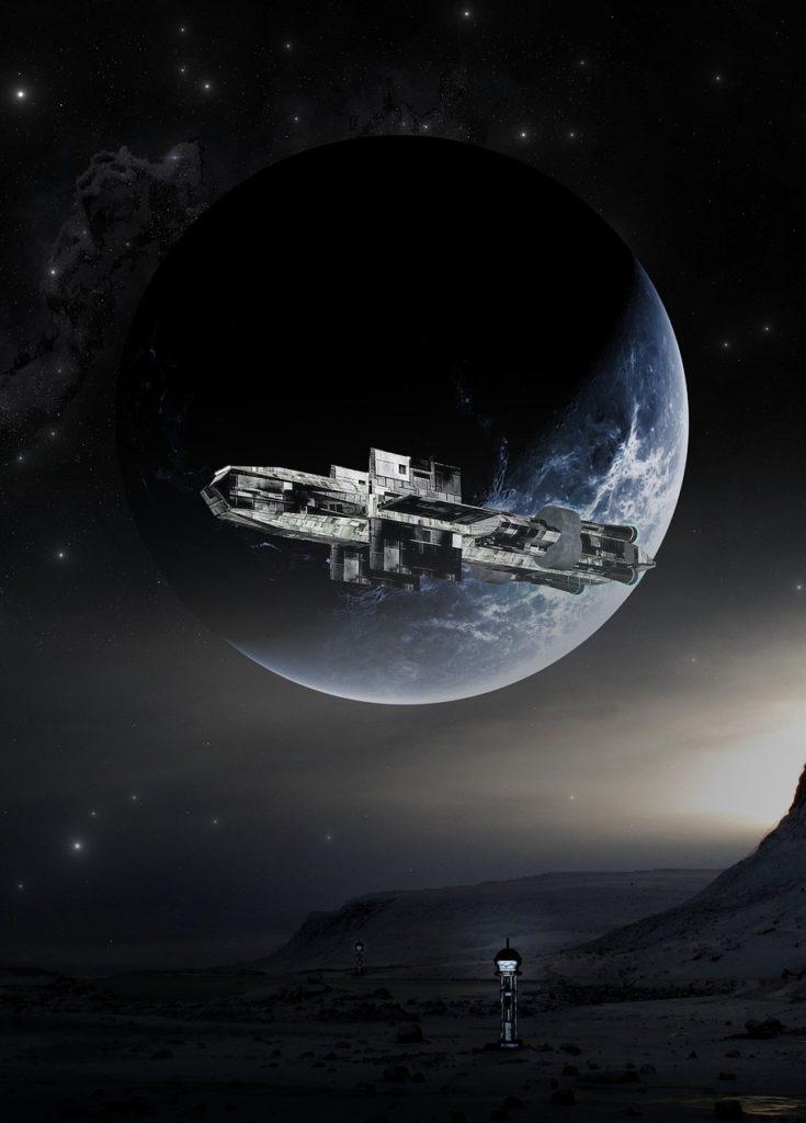 Sci-fi Crypto MMORPG